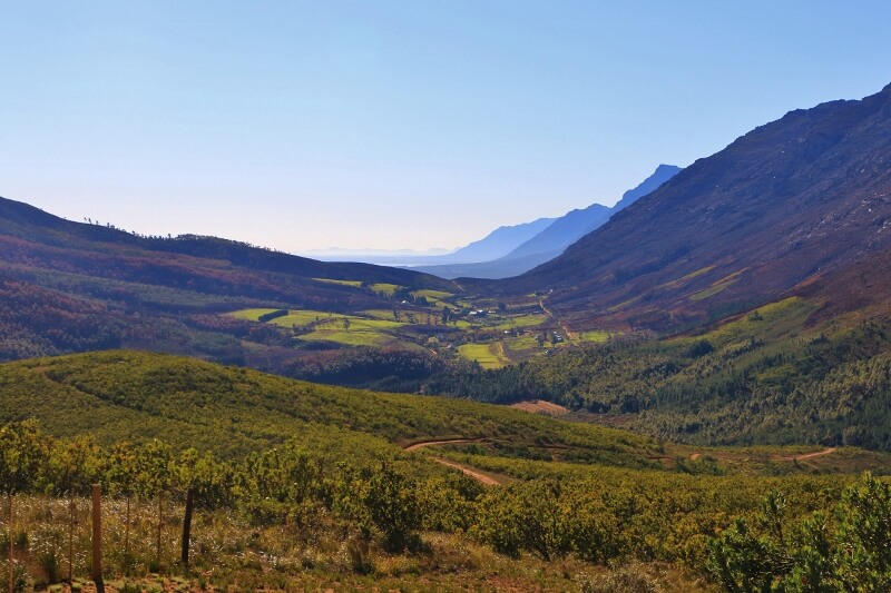 Bainskloof, South Africa, scenic pass, mountains, Western Cape, Boland, wine,
